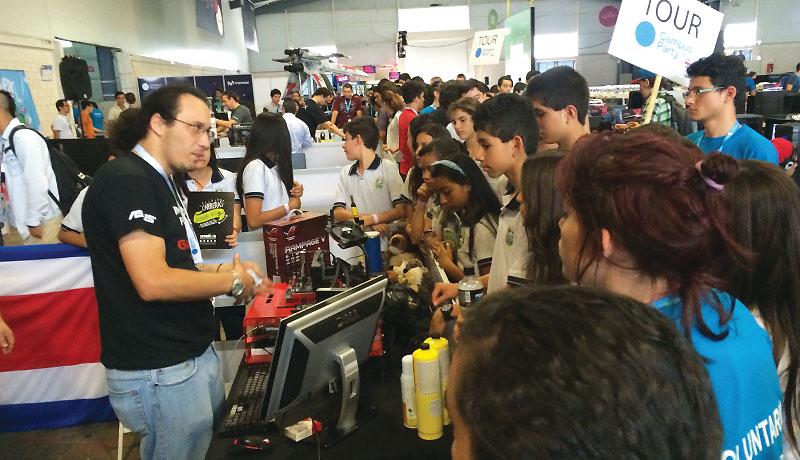 Asus dice presente con gran exito en Campus Party Costa Rica 4