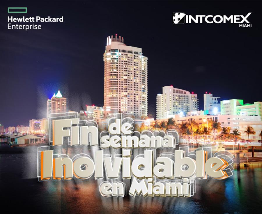 Gane un fin de semana inolvidable en Miami con HP Enterprise e Intcomex 2