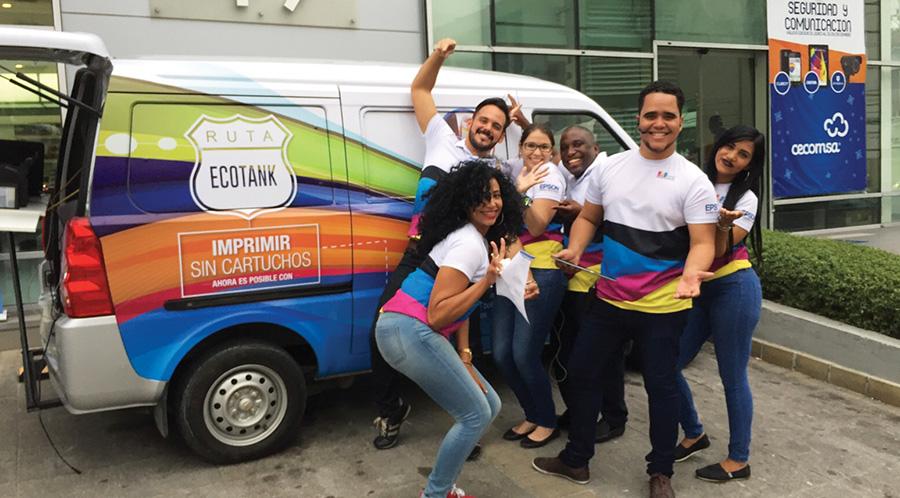 Ruta Ecotank recorre Santo Domingo 2