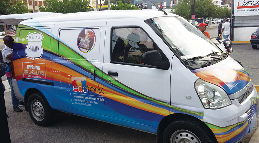 Ruta Ecotank recorre Santo Domingo 5
