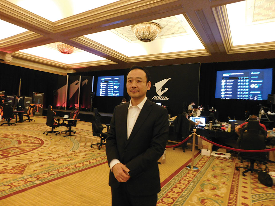 Tony Liao, Senior Associate Vicepresident Marketing and Service Center Motherboard Business Unit Gigabyte