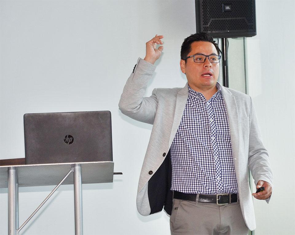 Ricardo Moreno, Account Executive de Axis
