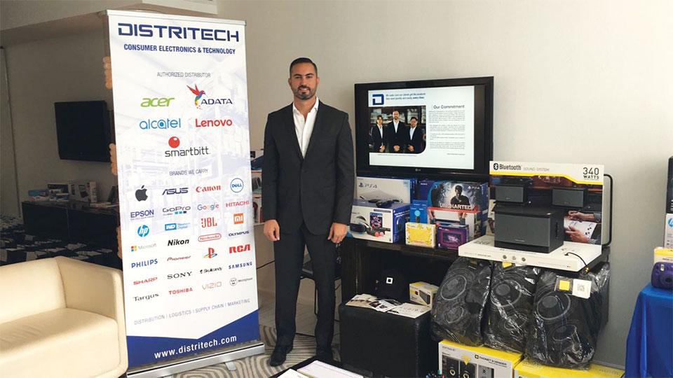David Hasbun, CEO, Distritech