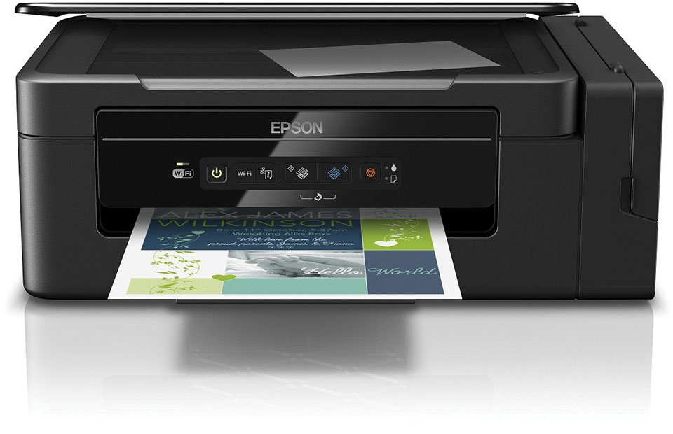 Epson 1 In Cartridge Free Printing With New Ecotank