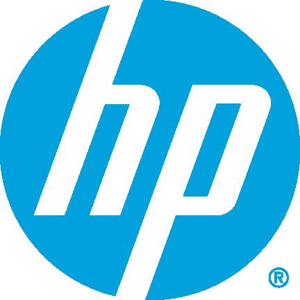 Logo HP blue